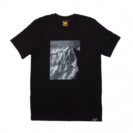 Mountain Photo T - Black