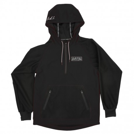 Level 1 x Saga Anorak Bonded Pullover - Black