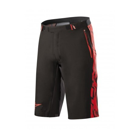SHORTS MESA - BLACK RED