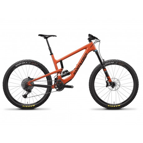 Santa Cruz Nomad 4 C 27.5 Orange S-Kit - 2019