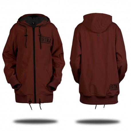 Soft Shell Hoodie - Ron Burgundy