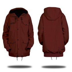Soft Shell Jacket - Ron Burgundy