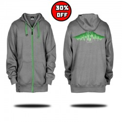 Skyline Hoodie - Heather Gray