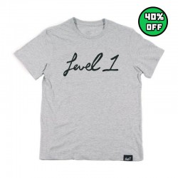 Script T - Heather Grey