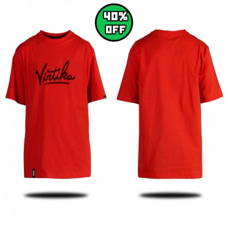 Throwback Tee - Red