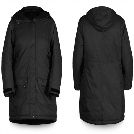 Womens Parka - Ebony