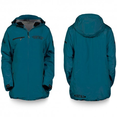Vir-Tek Shell Jacket- Emerald