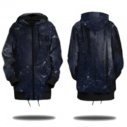 Soft Shell Hoodie - Constellation